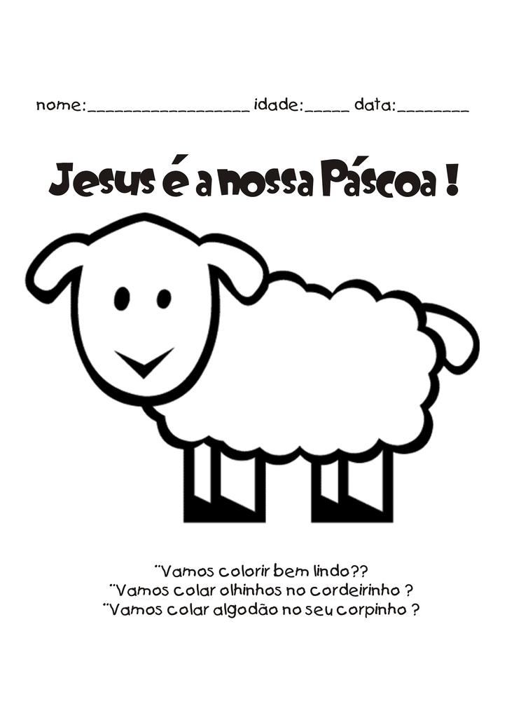 Eu Amo O Ministerio Infantil Pascoa Atividades Para Colorir