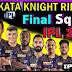 IPL 2020 Predicted Playing 11 for Kolkata Knight Riders | IPL 2020 Kolkata Knight Riders Playing 11 | KKR Playing 11 IPL 2020