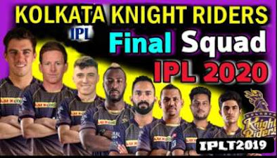 IPL 2020 Predicted Playing 11 for Kolkata Knight Riders
