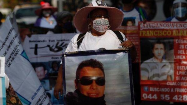 Madres de desaparecidos en México realizan marcha