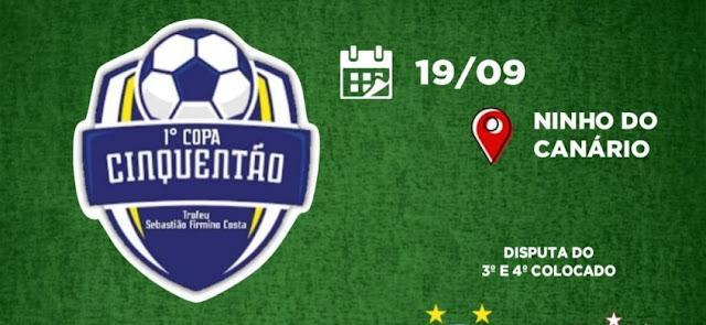 Final da 1ª Copa Cinquentão de Futebol Amador de Patos acontece no domingo (19)