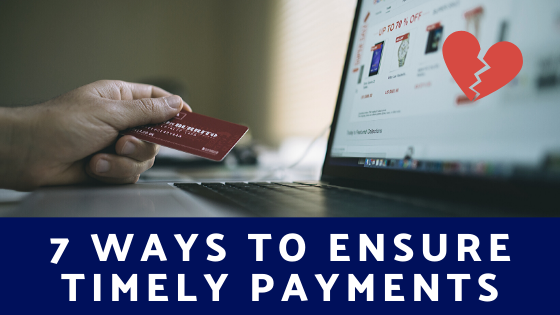 ensure timely payments
