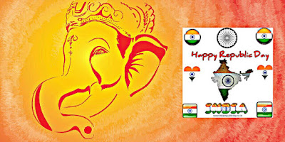 Lord Ganesha Happy Republic Day Images