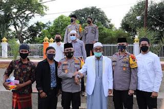 Pimpinan Ponpes Al-Kautsar Al-Akbar, Syech Ali Akbar Marbun Imbau Masyarakat Tidak Takbiran Keliling