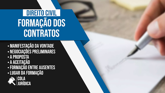 Da Formação dos Contratos - Direito Civil