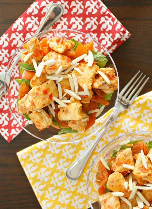 moroccan chicken carrot salad