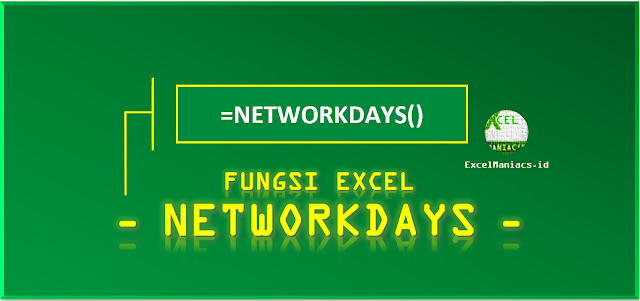 Fungsi Excel NETWORKDAYS