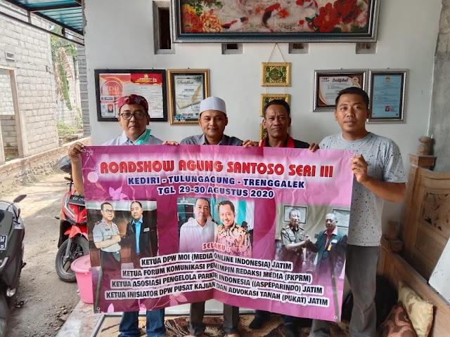 Roadshow Agung Santoso Seri III Di Kediri Sepakat Berbenah Menuju Peningkatan Mutu Konten On line