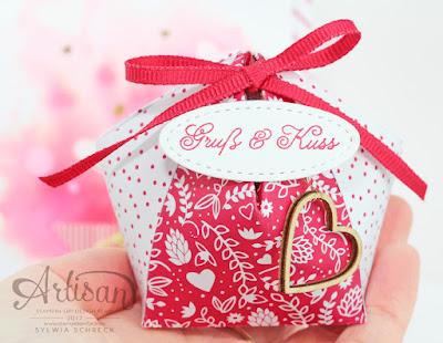 Verpackung - Liebe Grüße von Stampin UP