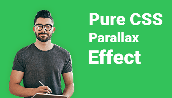 Pure CSS Parallax Effect