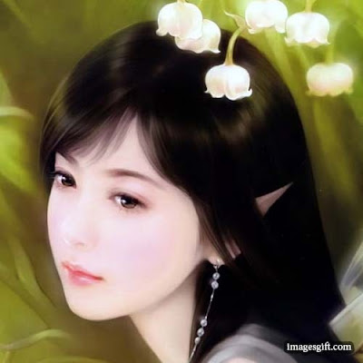 animation images of girl