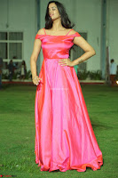 Actress Pujita Ponnada in beautiful red dress at Darshakudu music launch ~ Celebrities Galleries 020.JPG