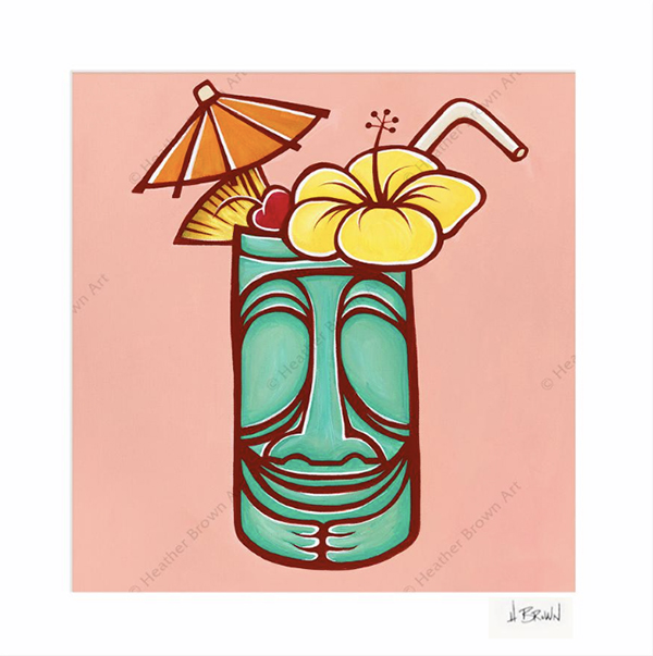 tiki surfing art heather brown trader Vics