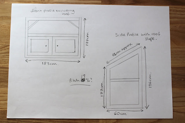plans for building a DIY bike shed