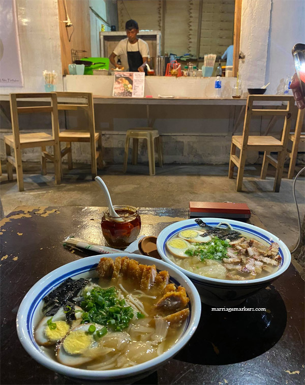 Bacolod chef, Bacolod ramen restaurant, bacolod restaurant, carinderia, chef, date night, date night movement, Ichiraku Ramen-nan Bacolod, Ichiraku Ramen-nan Bacolod location, Japanese fusion, marriage, ramen, relationship, sidewalk eatery, simple date, Tippy's Bistro