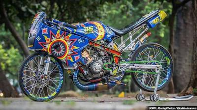 Modifikasi Motor Ninja R Bike