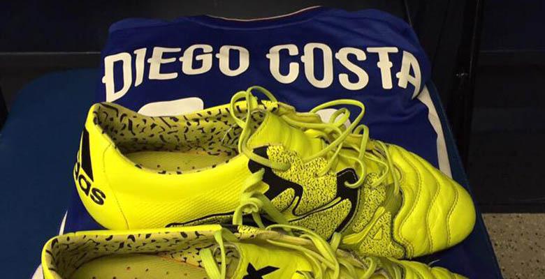 454c8b7f7 Diego Costa Debuts Almost Non-Modified Adidas X 15 Cheap Nike ...