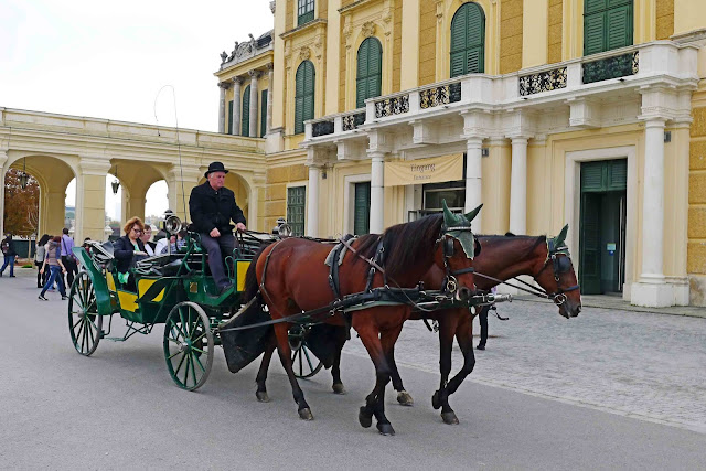 Schonbrunn Palace Horse Carriage