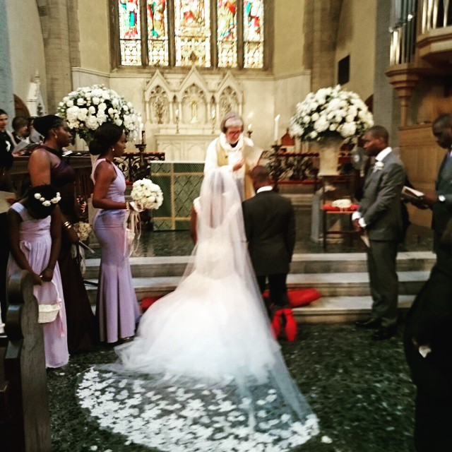 Emmanuel Adefarasin Marries Yewande Adeosun In Florence