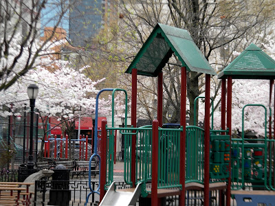 Spring Hell's Kitchen Park New York City