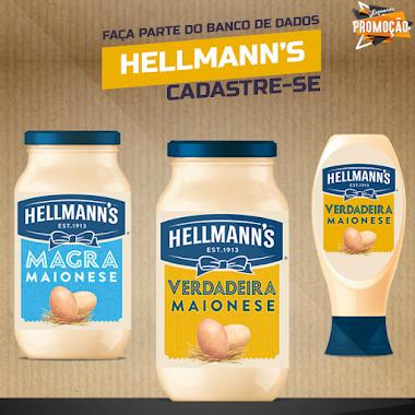 Cadastre-se e receba novidades da Hellmanns