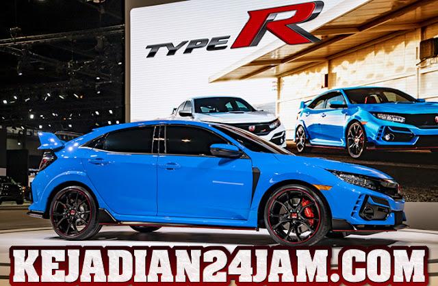 Perusahaan Honda Kenalkan Racing Blue Warna Baru Civic Type R