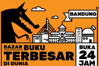 Akhirnya Ada Big Bad Wolf 2019 di Bandung