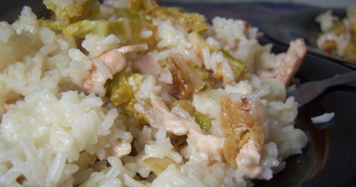 Receta arroz blanco redondo con pollo y repollo for Arroz blanco cocina al natural