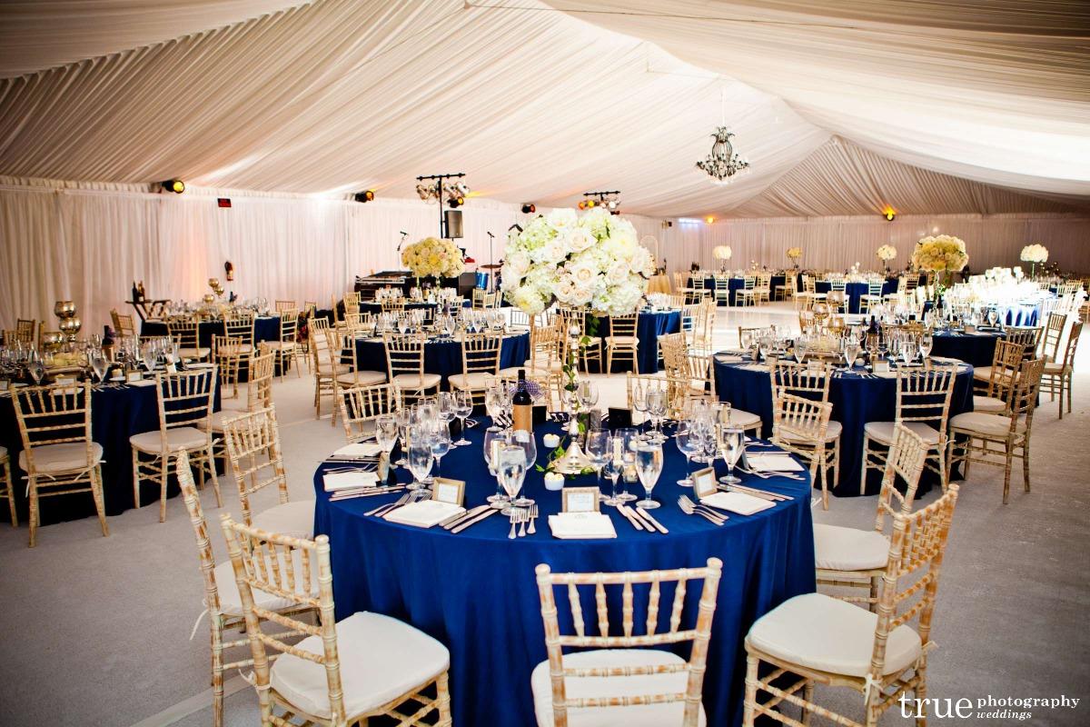 Midnight Blue Wedding Table Decorations Veve S Adding Balloon