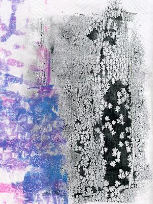 gel printing background