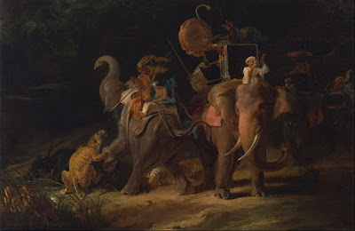 Tiger Hunting by Thomas Daniell