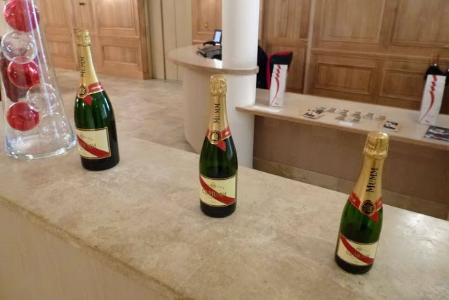 Paris to Reims: Champagne in 3 sizes at G.H. Mumm