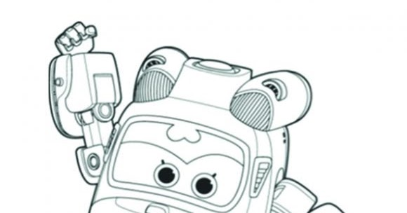 Coloring pages for kids free images: Super Wings free