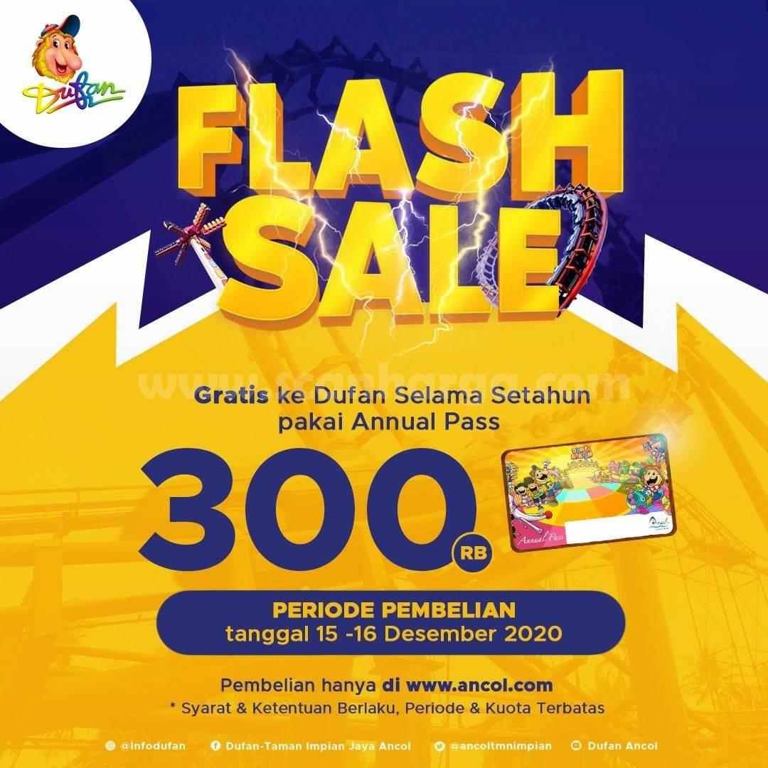 DUFAN Flash Sale – Harga Annual Pass cuma Rp 300.000