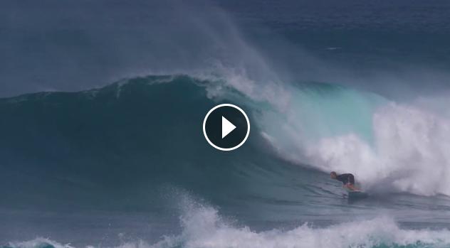 Three Beautifully Ridden Waves John John Florence Sunset Beach 01 04