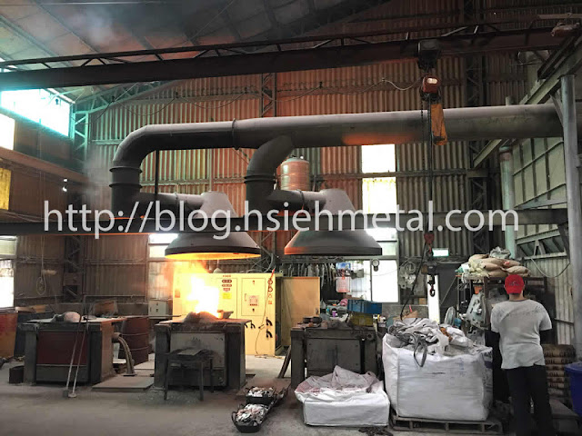Sand_Casting_high frequency induction heater