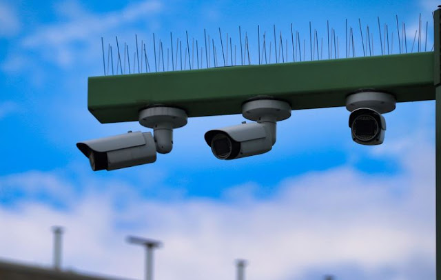 how to make business property more secure surveillance