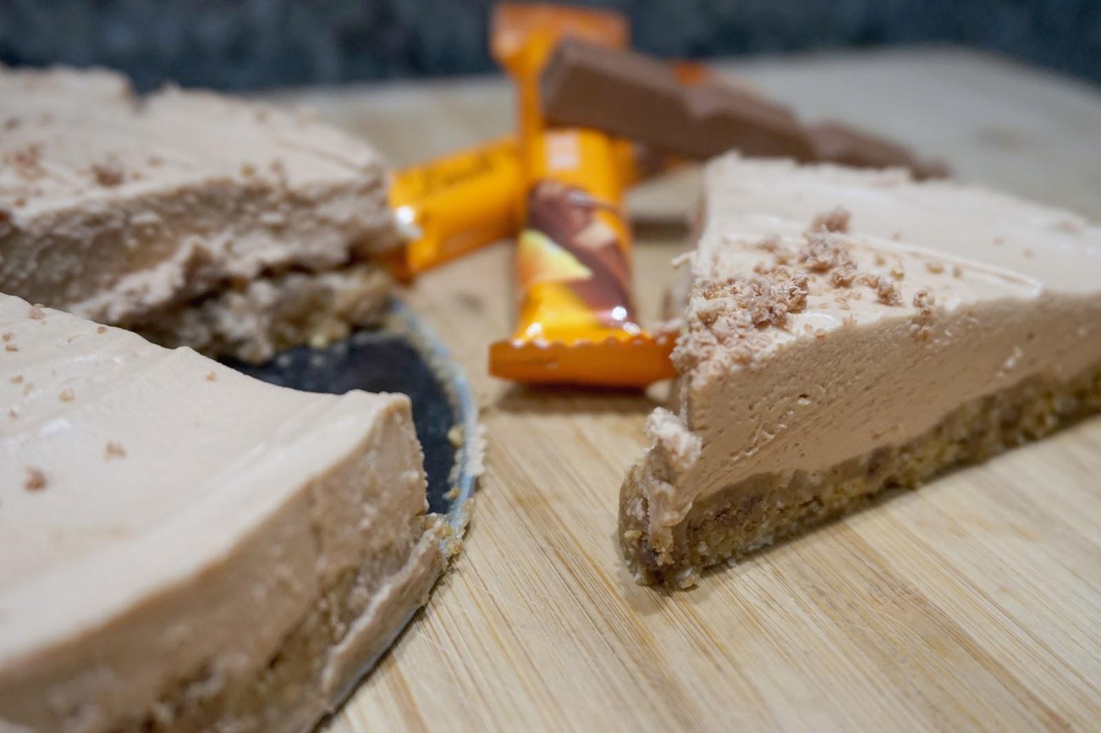 Just Add Ginger: Lindt Chocolate Orange No Bake Cheesecake   Just