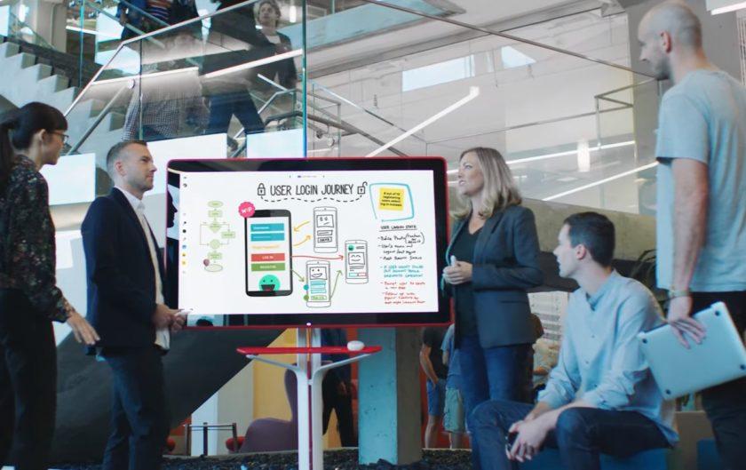Google Jamboard ska ersätta whiteboards