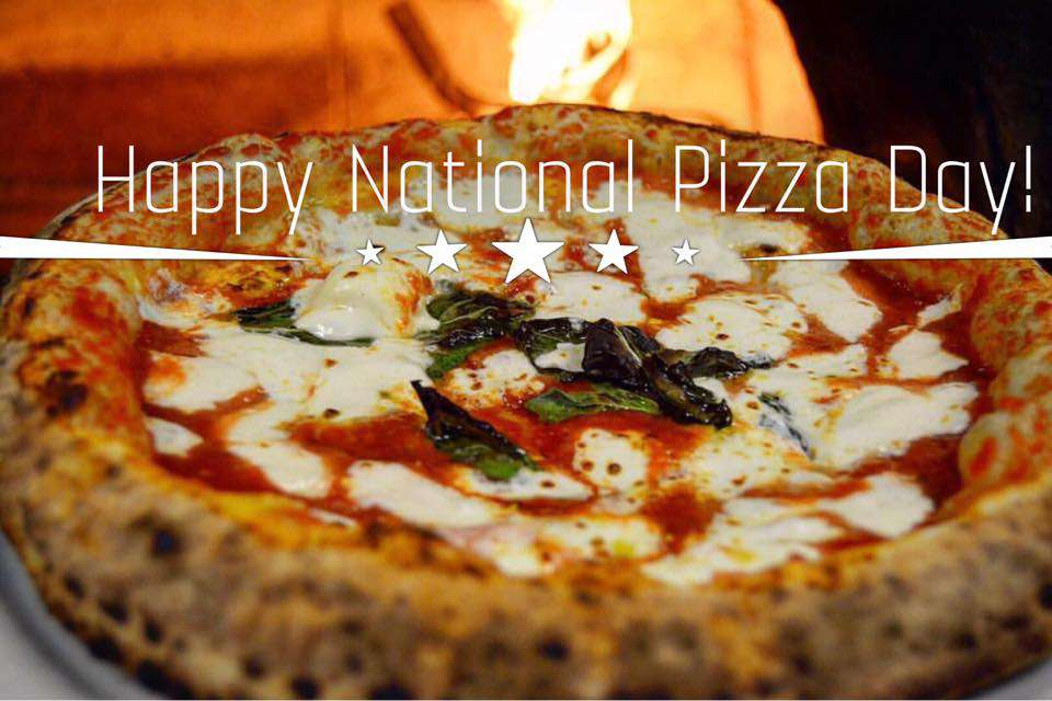 National Pizza Day Wishes Unique Image