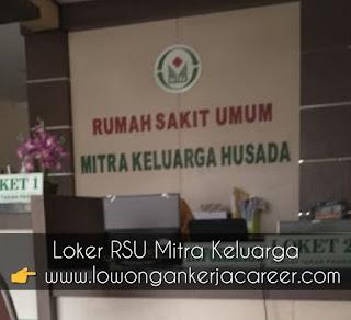 Lowongan Kerja RSU Mitra Keluarga Husada Klaten Pedan 2020