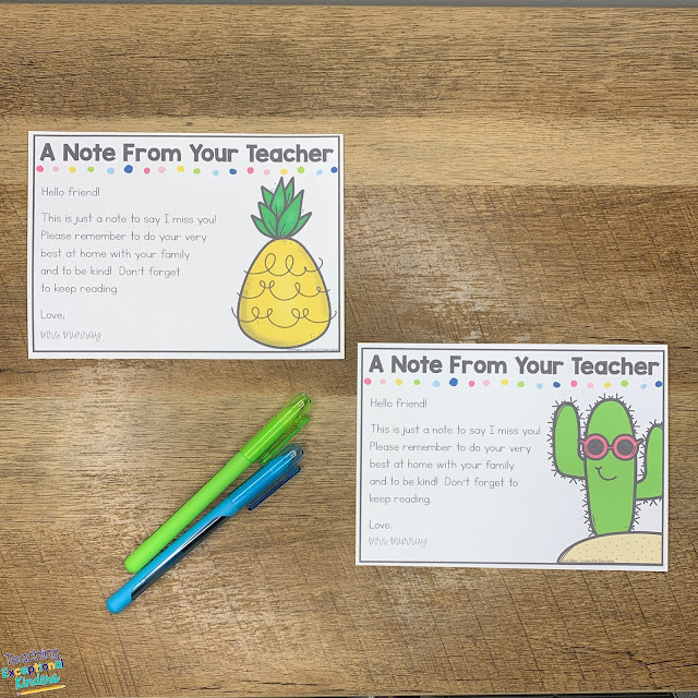 6 tips for distance learning in kindergarten from a kinder teacher.  Engage families, keep things organized, and fun all while teaching from home during remote learning.  It can be tricky to get 5 year olds engaged outside of the classroom but these free editable lesson plans, printable choice menus, and other tips will help!