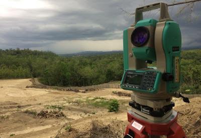 Jasa Survey Topografi / Pemetaan Tanah Tanjung Pinang, Kepulauan Riau Paling Top