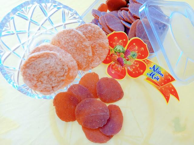 Bánh phồng tôm sú đỏ 100% thịt tôm