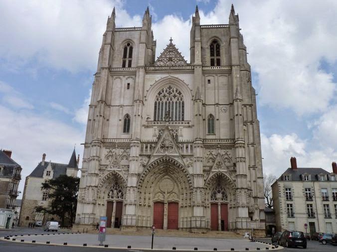 Cathédrale de St-Pierre-et-St-Paul de Nantes.