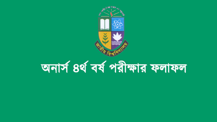 Honours 4th Year Result National University 2017