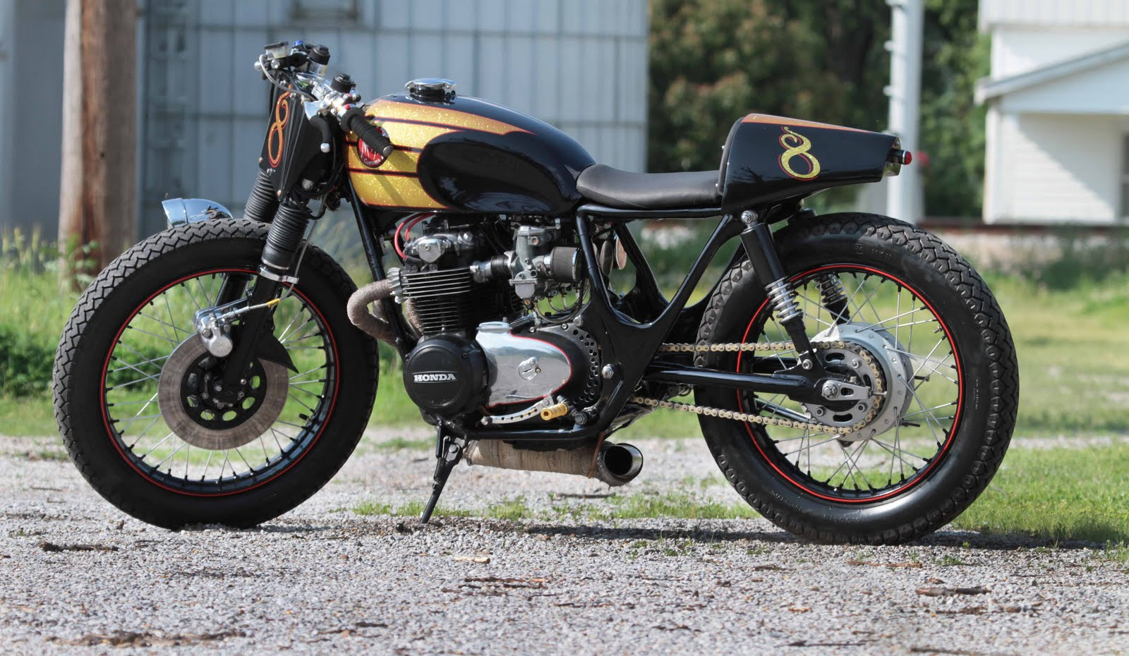 Cafe Racer Special: Honda CB 500 '72 Cafe Racer by M&M Customs