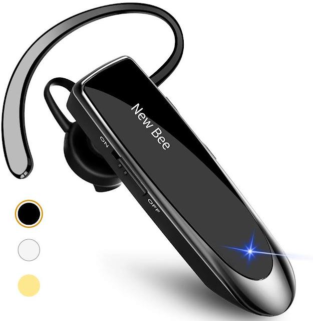 New Bee Bluetooth Earpiece V5.0 Wireless