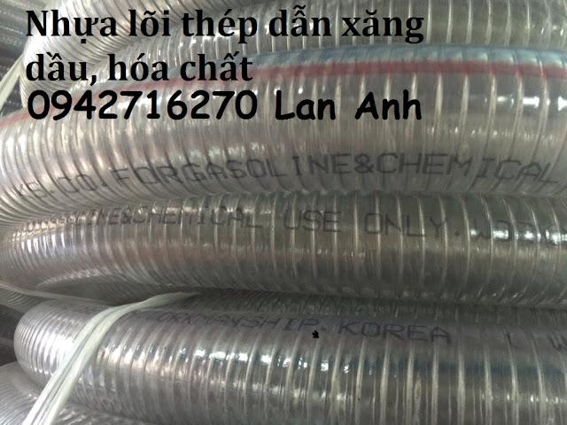 Ong nhua deo loi thep cao cap