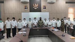 Temui BBPJN II Medan, Ini Usulan Vandiko Gultom Guna Pembangunan di Samosir